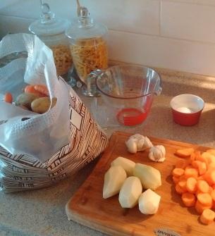 Basket bags for various fruits & vegetables